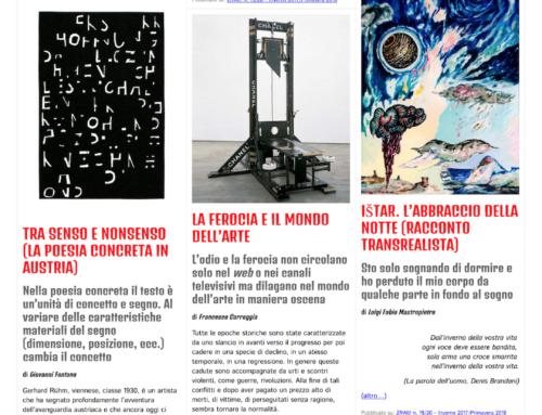ZRAlt! Il numero doppio 19/20 della rivista trimestrale multimediale è online